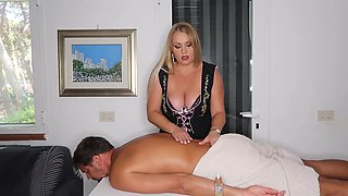 Mistress feet & handjob