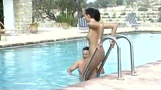 Vintage pool fucking