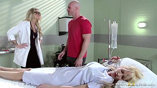 Doctor Adventures: Doc Takes On The Biggest Cock. Jessa Rhodes, Johnny Sins