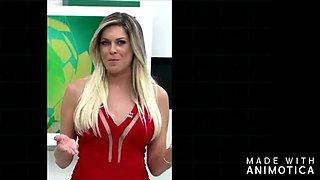 Brazilian renata fan is hot and pretty