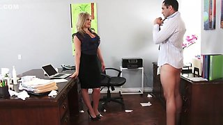 Alexis Texas fucked her horny boss in the office