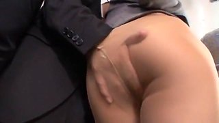 Crazy Japanese girl Yu Namiki in Incredible Bus, Secretary JAV movie