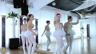 Teen tickle orgasm first time Ballerinas