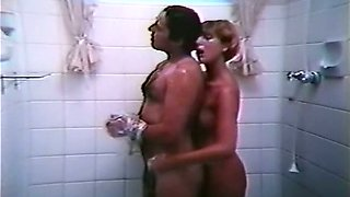 Naughty blonde milf got her lover bound on the bed