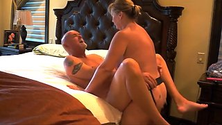 A full session with mature wife Karen. Start to finish