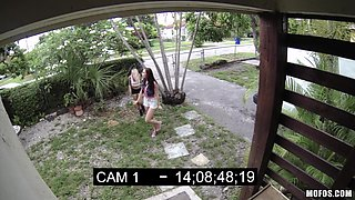 Young Girls Did Not Know That They Were Being Removed By Hidden Camera