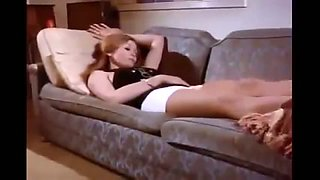 Vintage sex vid of kinky red haired wife being naughty while sleeping
