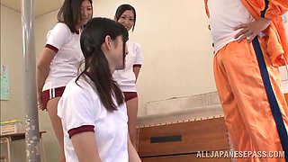 J Schoolgirls Found Out All They Need About Cock