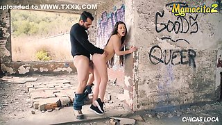 Kinky French Exhibitionist Risky Public Sex With Her Boyfriend With Tiffany Doll And Chica S