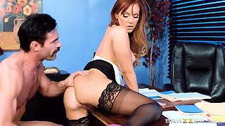 Dani Jensen & Charles Dera in Underpaid Overworked And Completely Fucked - Brazzers