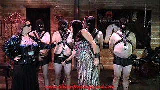 Goddess Phoenix & Mistress Alice CBT Slave Educational Class