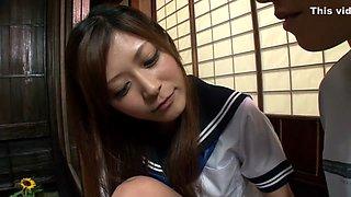 Crazy Japanese model Haruki Sato in Hottest close-up, college JAV clip