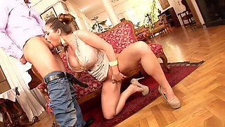 Incredible pornstar Cathy Heaven in exotic brazilian, deep throat xxx movie