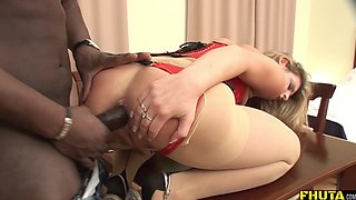 Blonde Milf Asshole expanded by BBC