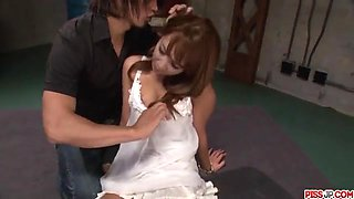 Extreme porn scenes along hot wife Ryo Akanishi - More at Pissjp.com