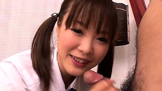 Naked Momoka Rin amazing bedroom sex with a teacher - More