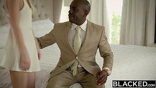BLACKED First Interracial For Blonde Teen Lily Rader
