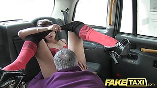 Hot tall brunette in pantyhose and long sex anal