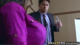brazzers - big tits at work - priya price and preston parker