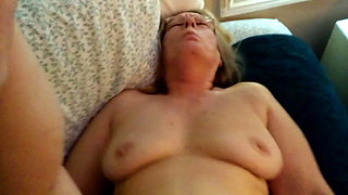 61 yr mother iniaw ass cum