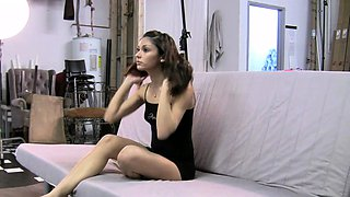 Softcore Indian Model Jassi In Striptease Show