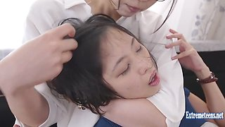 Idol Ichiki Mahiro Asks To Be Attacked By Work Colleague Gets Roughed Up As She Fucks Extreme Action