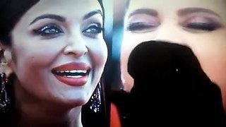 aishwarya rai and deepika cum tribute