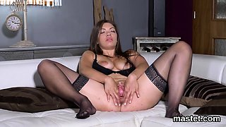 Wacky czech cutie opens up her yummy twat to the strange59ru
