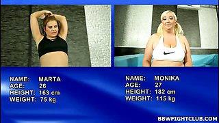 BBW sex wrestling