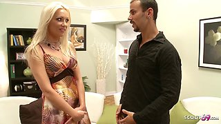 Hot Mom Diana Doll Applies For Porn And Rough Fuck At C