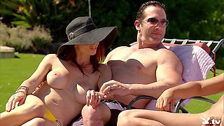 Hot Outdoor Sex Party @ Season 3 Ep. 4