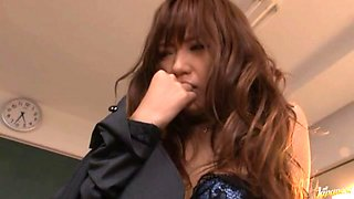 Nana Konishi Hot Japanese teacher is sexy