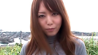 Cum swallowing with sexy Akiho Yoshizawa