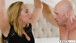VIXEN Hot Carter Cruise Lets her Boss Do Whatever he wants