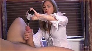 ejaculation exam asmr