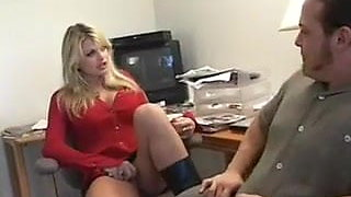 Vicky Vette Banged At The Office