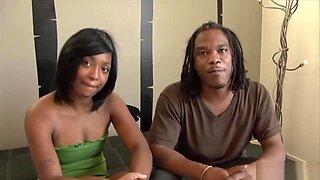 Gorgeous Ebony Beauty Likes His Bbc