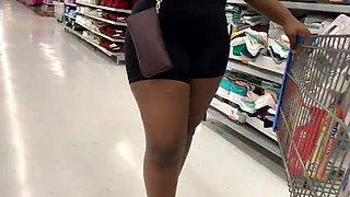 Ebony spandex ass and cameltoe compilation