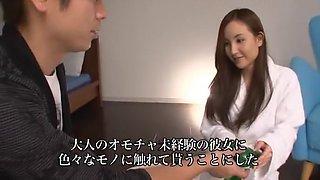 Incredible Japanese chick Kaori Saejima in Best Dildos/Toys, Cunnilingus JAV movie