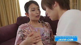 Japanese Stepmom and Son Taboo