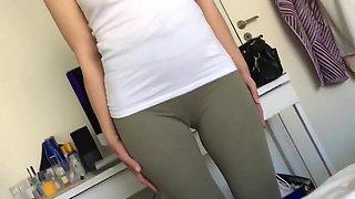 Cameltoe and butt teaser