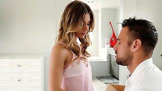 Seducing Her Roommate Boyfriend