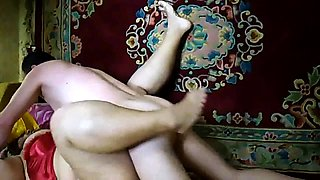 Chubby Russian wife gets pumped full of cock by her lover