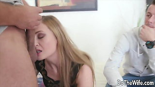 DoTheWife - Cuckolds Watching Wives Give BJs Compilation 16