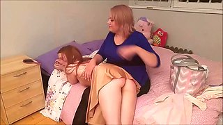 Spanked and diapered for aunt&#39s wedding