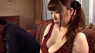 Horny Japanese whore Chitose Saegusa in Crazy public, striptease JAV video