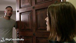 Krissy Lynn fucks her bully's brother - bigcockbully