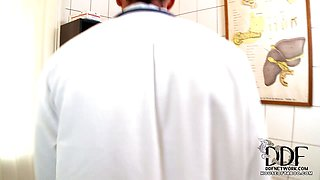 Doctor Nick spanks his patient