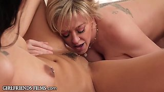 Native Beauty Gifts Her Virgin Pussy To Horny Milf - Dee Williams And Kiarra Kai