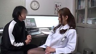 Fabulous Japanese whore Saki Hatsuki in Amazing Couple, Red Head JAV movie